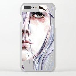 I'm a suffocator Clear iPhone Case