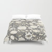 boho Duvet Covers featuring boho paisley by Ariadne