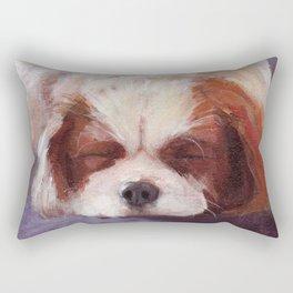 Sleeping Dog Rectangular Pillow