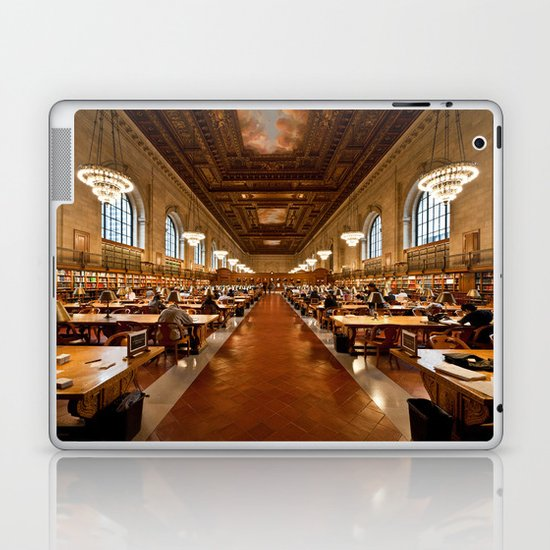 New York Public Library Laptop & iPad Skin
