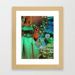 Thalia in Wonderland Framed Art Print