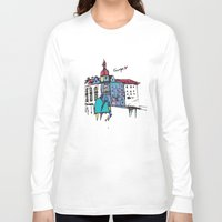 europe Long Sleeve T-shirts featuring europe by PINT GRAPHICS