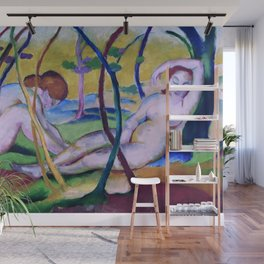 Franz Marc - Nudes under Trees Wall Mural
