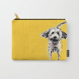 Labradoodle Larking! Carry-All Pouch