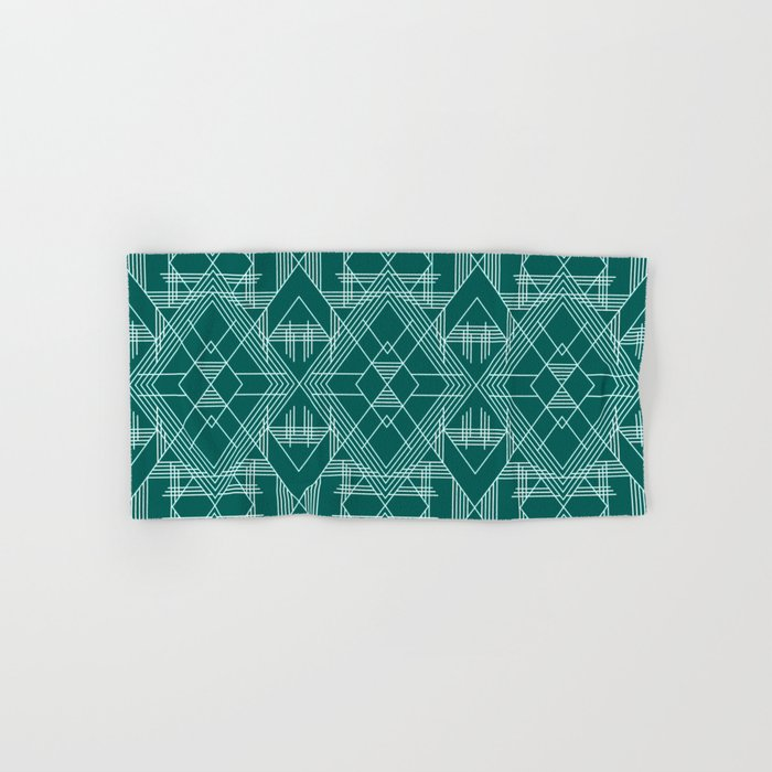Illuminati Forest Green Hand & Bath Towel