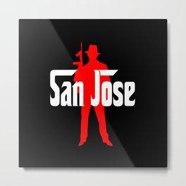 San Jose mafia Metal Print