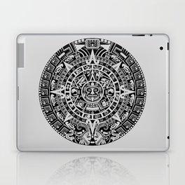Mayan Calendar // Light Grey Laptop & iPad Skin