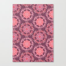 Retro Plum Canvas Print