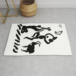 Pablo Picasso Pour La Paix, For The Peace Artwork, Tshirts, Prints, Bags, Posters, For Men, Women, K Rug