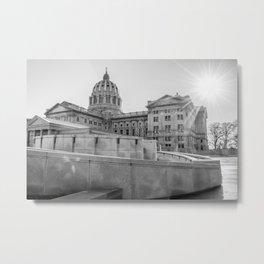 A Capital Afternoon Metal Print