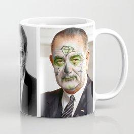 Day of the Dead Presidents: LBJ Coffee Mug