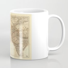 Middle East Map (1885) Coffee Mug