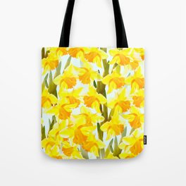 Spring Breeze With Yellow Flowers #decor #society6 #buyart Tote Bag