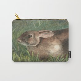 Shy Rabbit Carry-All Pouch
