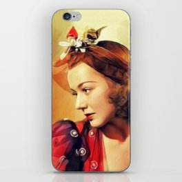 Anne Shirley, Vintge Actress iPhone Skin