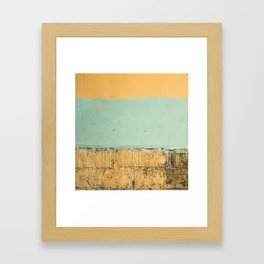 ColoredWall Framed Art Print