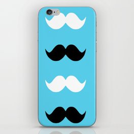 moustaches iPhone Skin