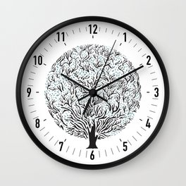 Tree Wall Clock