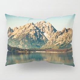 Mountain Lake Escape Pillow Sham
