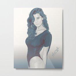 Sarah Metal Print