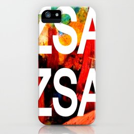 Zsa Zsa (for Craig) iPhone Case