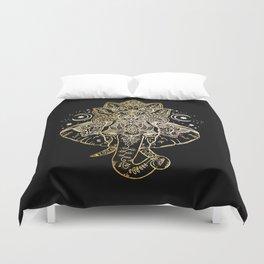 Elephant Mandala Duvet Cover