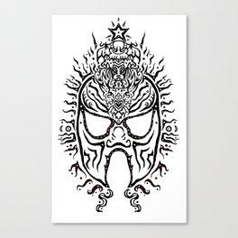 El Luchadore Canvas Print
