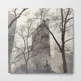 Flatiron Building Metal Print