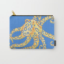 Blue Ring Octopus Carry-All Pouch