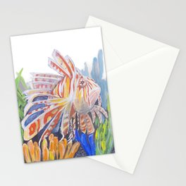 Colorful Lionfish Stationery Cards