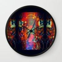 sam smith Wall Clocks featuring Sam by JosephusBartin