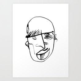 FACES / 001 Art Print