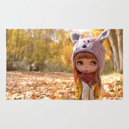 Honey - Autumn nature Rug