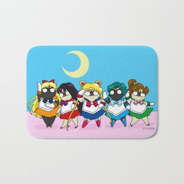 Sailor pugs Bath Mat