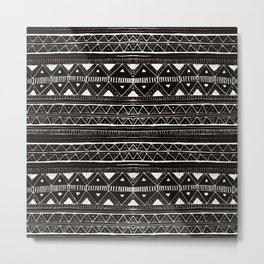 Zebedee Pattern Metal Print