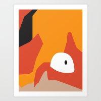 Close Up Art - Krab Art Print