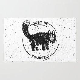 Wierd cat Rug