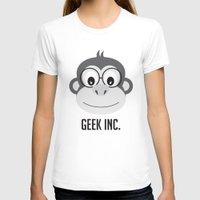 monster inc T-shirts featuring geek inc. by ann art