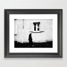 I follow you in the street, sometimes. 4 Framed Art Print