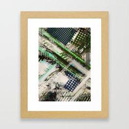 Tracking code 2 Framed Art Print