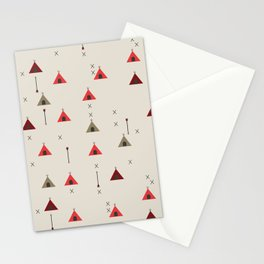 TEE PEE - Tipi - NATIVE NAVAJO PRINT Stationery Cards