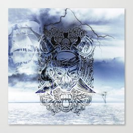 Ghost Pirate Canvas Print