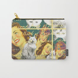 THE WOMAN GINGER ROOT AND THE CATS Carry-All Pouch