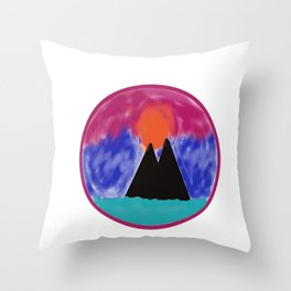 Sunset Throw Pillow
