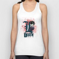 death note Tank Tops featuring Death Note by feimyconcepts05