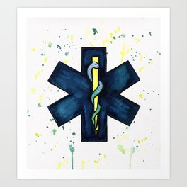 EMT Hero Art Print