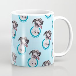 Great Dane Print Coffee Mug