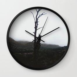 Dead Mist Wall Clock