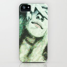 Gazing Beauty iPhone Case