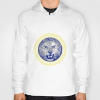 versace Hoodies featuring Versace Lion by Hans Poppe